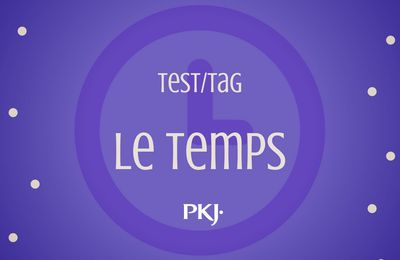 TAG by Pocket Jeunesse : Le Temps