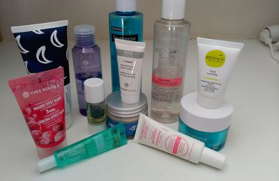 Routine visage en mode layering