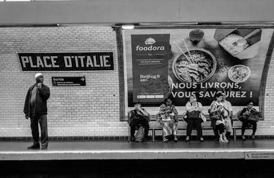 Scènes de rue en Noir et Blanc