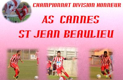 Championnat : As Cannes - St Jean Beaulieu