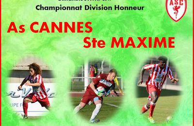 Championnat: As Cannes - Ste Maxime
