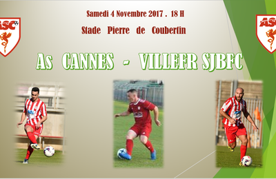 National 3 : As Cannes - Villefr sjbfc