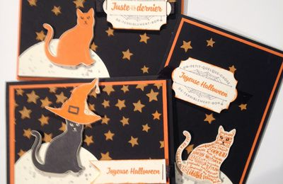 Trio de carte Halloween