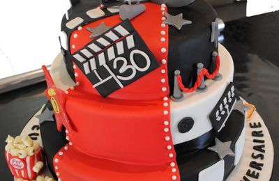 Cake design : Cinema Cake