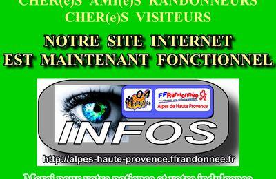 SITE INTERNET FFRANDONNEE 04 à nouveau DISPONIBLE-