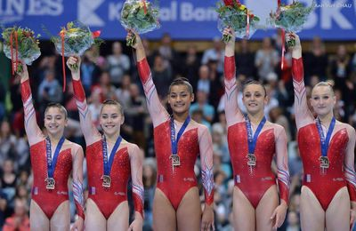 Championnats d'Europe GAF : La France en Bronze !