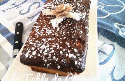 Cake au lait concentré et fudge au caramel