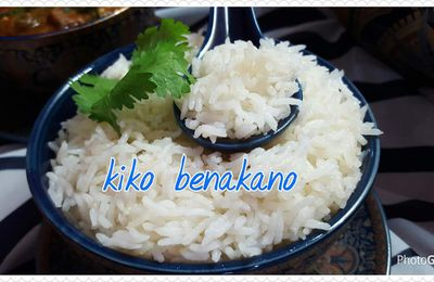 Riz basmati simple
