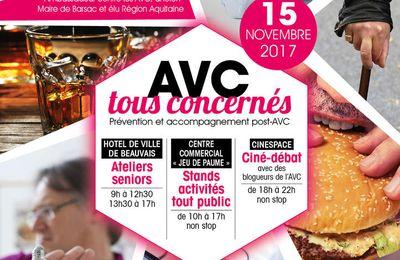 J-30 : Journée de l'AVC à Beauvais le 15/11/2017