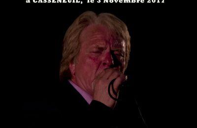 2017 - Casseneuil - Bernard CLAIN,  Tribut Eddy MITCHELL