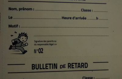 Absences et retards