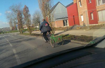 A vélo...