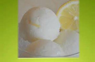 Sorbet au citron