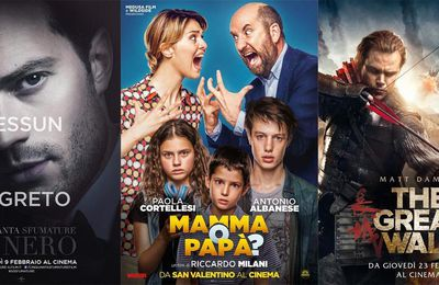 BOX-OFFICE ITALIE - 20 AU 26 FÉVRIER 2017