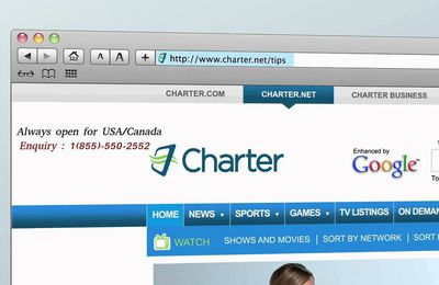 Charter Customer Service for email technical support helpline