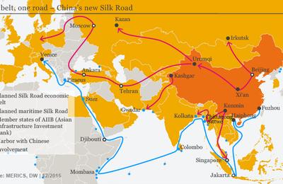 La Chine et la Nouvelle Route de la Soie : vers le plus grand empire de l'Histoire?