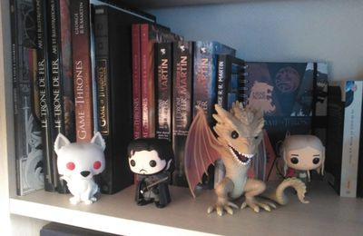 Petit tour de ma collection Game of Thrones!