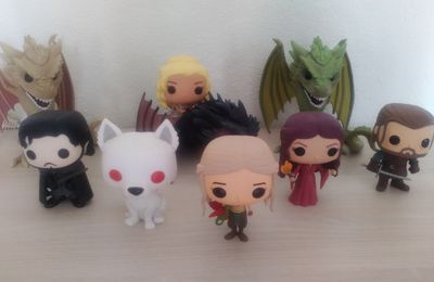Mes figurines Funko Pop Game of Thrones