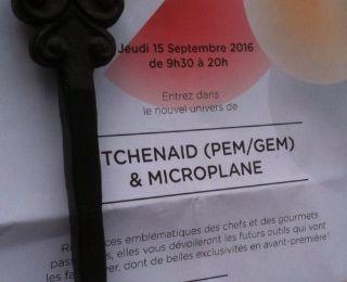 """Show-room des produits Kitchenaid et Microplane à l'atelier de """"la cuisine de Bernard"""""""