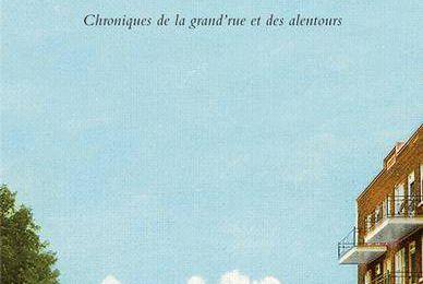*MOURIR D'OUBLI* Chronique de la grand'rue et des alentours* André Hamel* Éditions Leméac* par Lynda Massicotte*