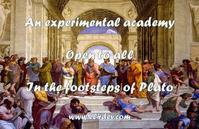 How to change the world - EL4DEV - Pictures - An experimental academy in the footsteps of Plato