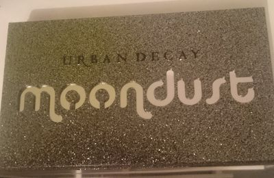 Swatch de la palette Moondust d'Urban Decay