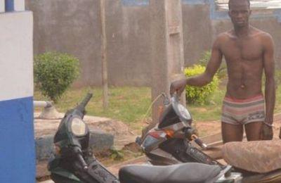 CENTRAFRIQUE : Un FACA spécialiste en vol de moto a été arrêté et lynché au Centre ville de Bangui