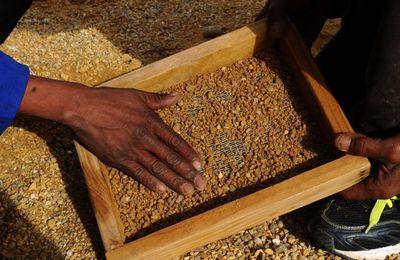 CENTRAFRIQUE :  le gouvernement fait le point sur les rumeurs d'une saisie de diamants