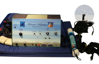 See One of the most Advanced Holistic Health Machine On the planet! The MIRACLE BLASTER ™!