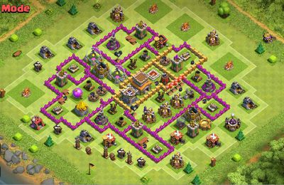 What is the best TH8 War Base?