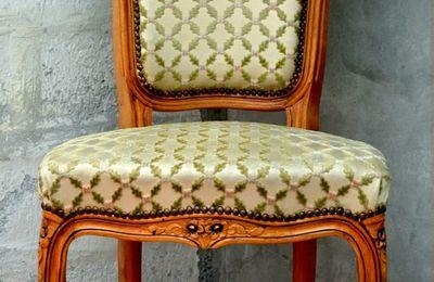 Chaise et Fauteuil Relookés