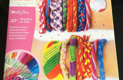 Découverte de la Lovely Box Grand Modèle Bracelets en folie- SYCOMORE -