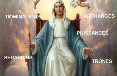 Prière de Mère Marie Immaculé Reine des Cieux.