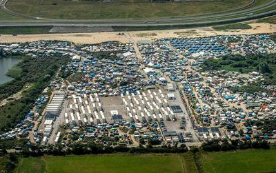 "L'évacuation de la ""jungle"" de Calais"