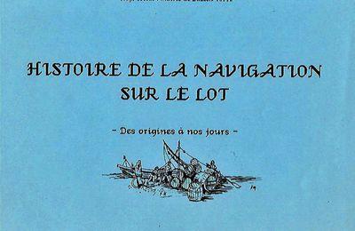 Histoire de la navigation sur le Lot