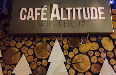 Prenez un bol d'air frais au CAFÉ ALTITUDE !