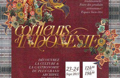 FESTIVAL COULEURS D'INDONÉSIE au Pavillon Dauphine !