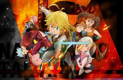 Animes Été 2016 : Seven Deadly Sins (2016)