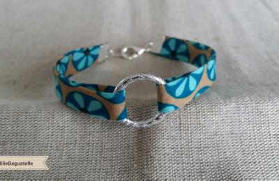 Bracelet tissu vintage 2