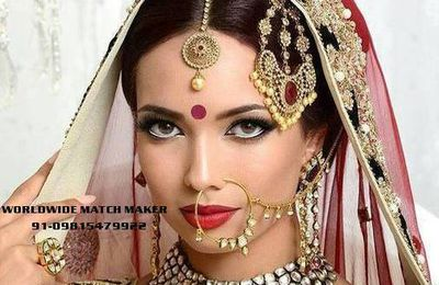NO 1 MARRIAGE BEUREAU IN INDIA & ABROAD 91-09815479922 FOR ALL CA