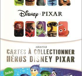 Cartes Pixar Auchan 2015