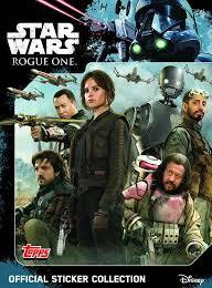 Star Wars Rogue One - Stickers Topps 2016