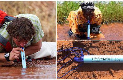 Buvez de l'eau potable où que vous soyez.