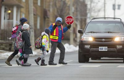 Study looks at the declining trend of kids walking to school