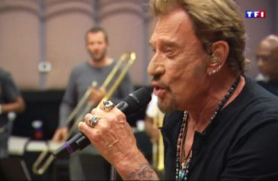 Johnny Hallyday interviewé par sa fille Jade sur Instagram.