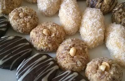 4 biscuits avec la même pâte