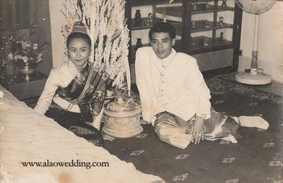 The story of a 1964 wedding dress - sin kindong