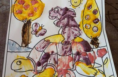 Peinture alimentaire gonflante