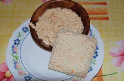 Crème aux surimis