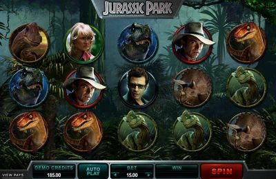 Jurassic Park slot machine review